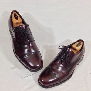 Johnston & Murphy Cap Toe Oxfords Brun Sz 9.5M